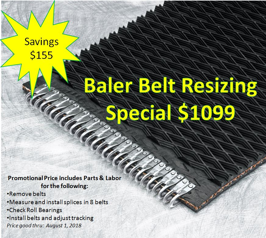 Baler Belt Resizing