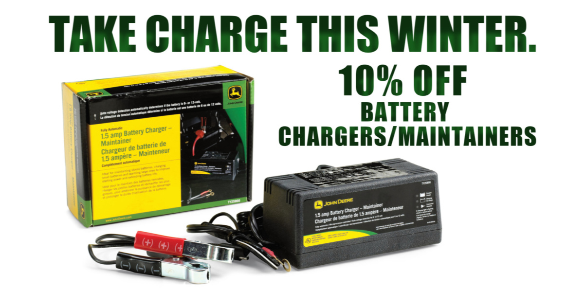Battery Charger Promotion